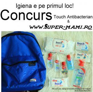 Produsele antibacteriene Touch