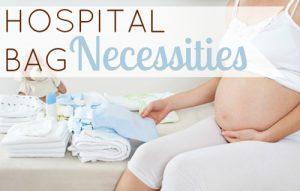 Bagajul de spital: ce iei de acasă pentru tine şi pentru bebeluş