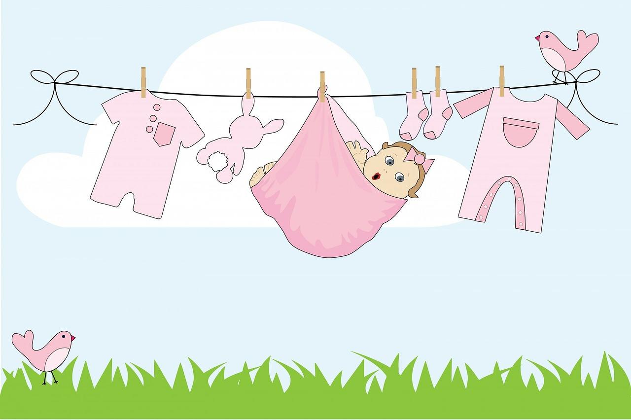 cum si cu ce spalam hainele bebelusului