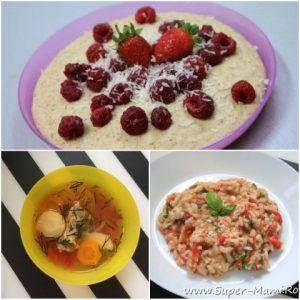 Ce mănâncă un copil de un an şi trei luni