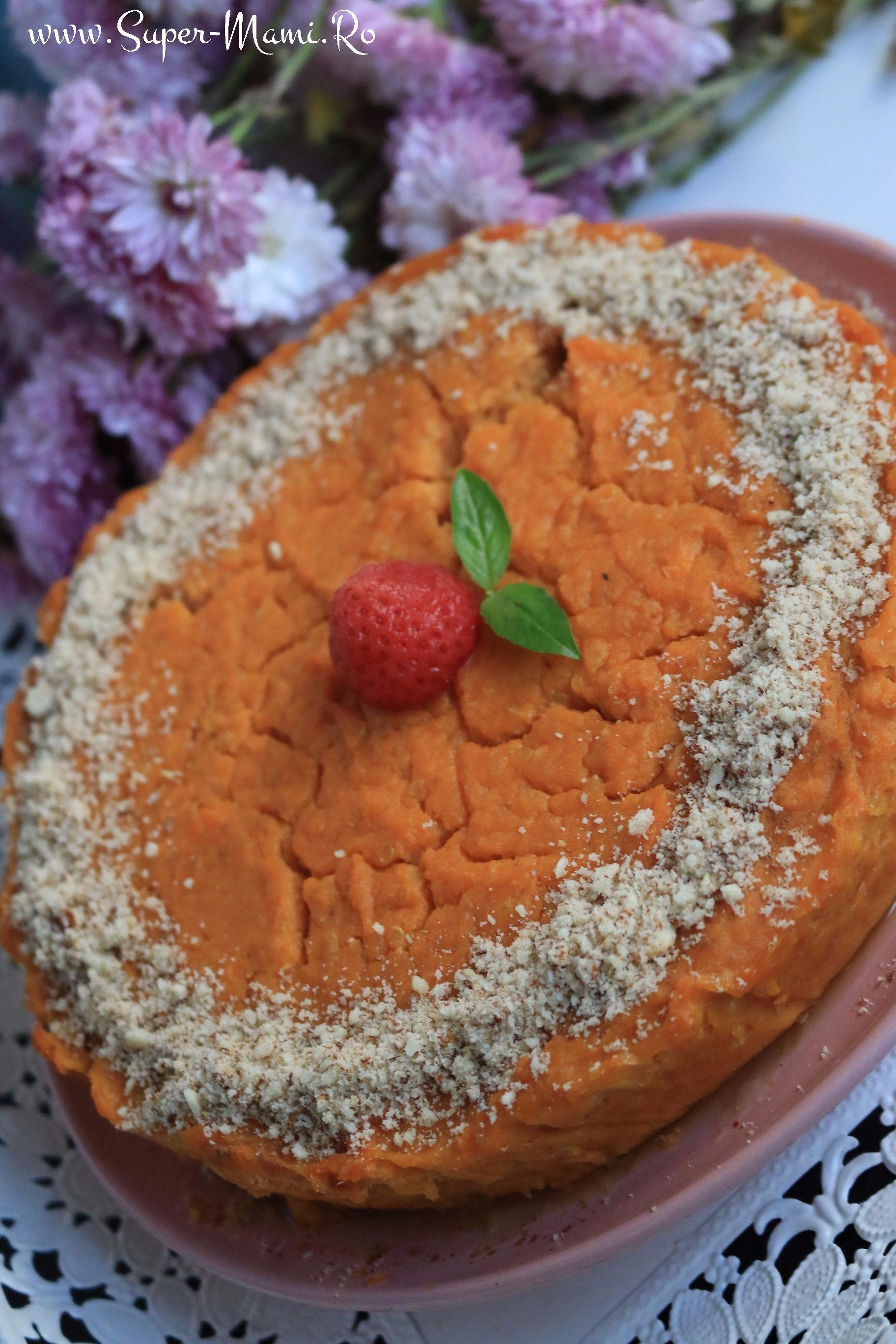 Ce mănâncă bebeluşul meu Budincă de cartof dulce, ricotta şi quinoa (1)