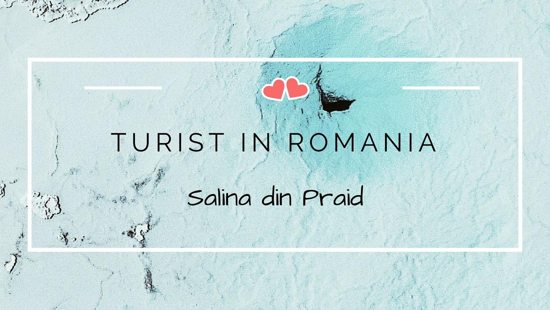 turist in romania salina din praid