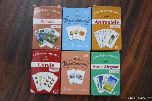 Cărţi de joc educative pentru copii