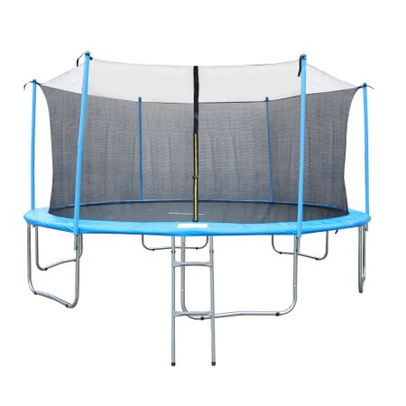 trambunlina copii Trambulina Kondition cu plasa de protectie si scara, 487 cm