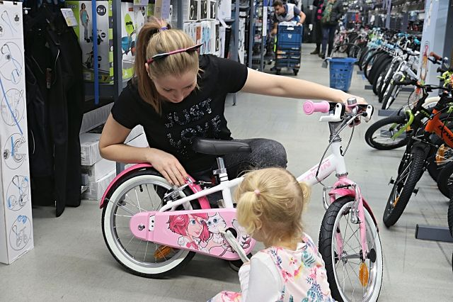 Bicicletă fabricată în România