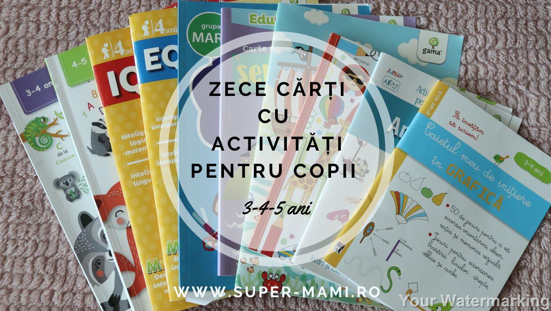 carti cu activitati pentru copii