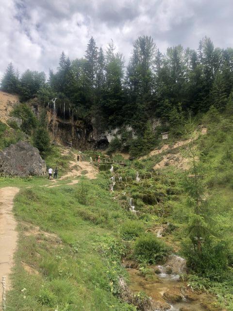 cascada Pișoaia (cascada de la Vidra)