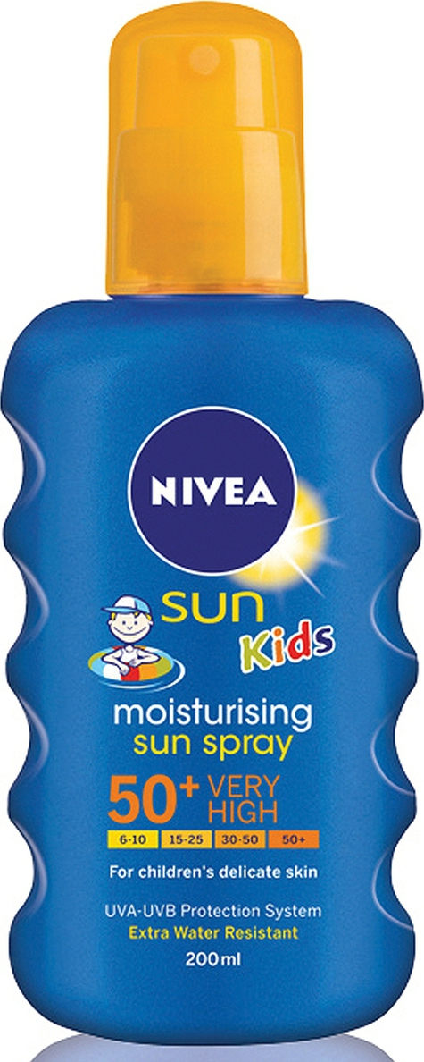 Veri colorate şi piele protejată cu Nivea Sun Kids SPF 50+
